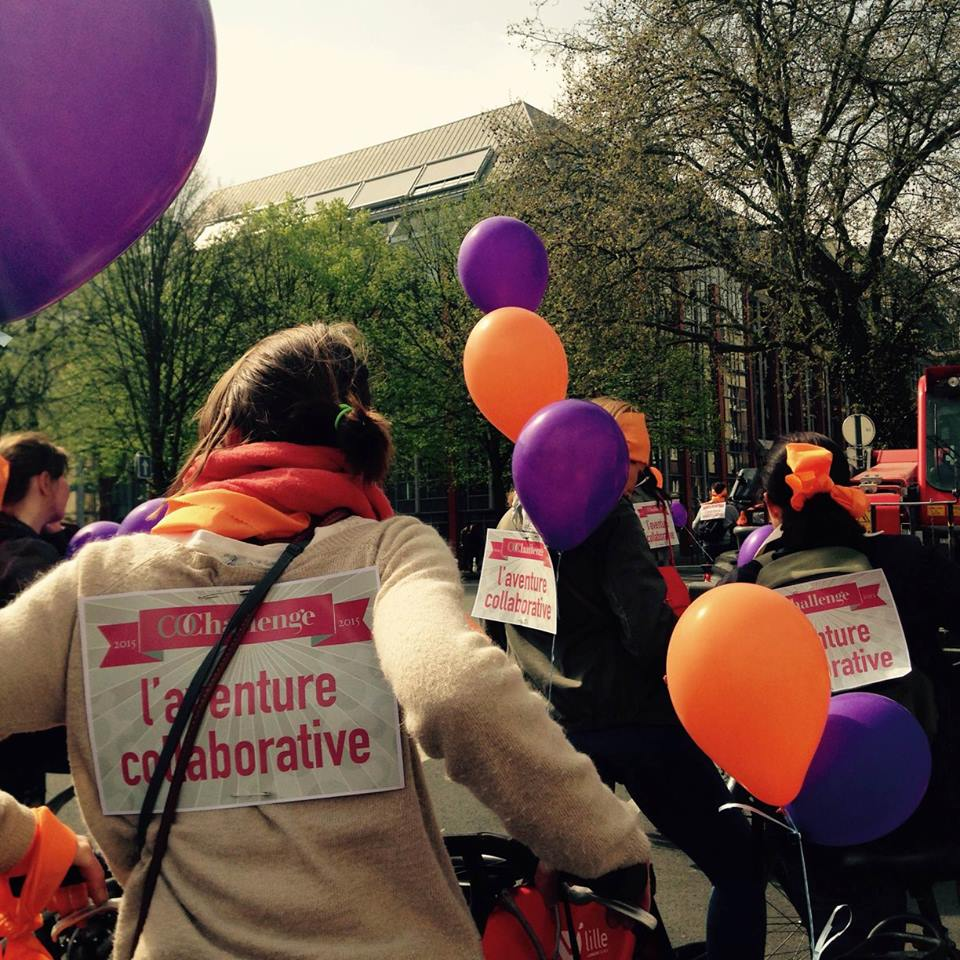 L'aventure collaborative en vélo pour le Co-Challenge