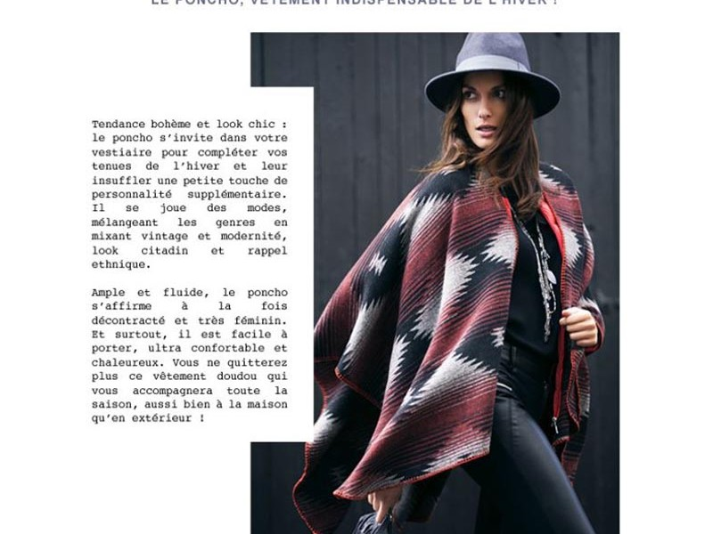 redaction emailing devianne look automne hiver ponchos