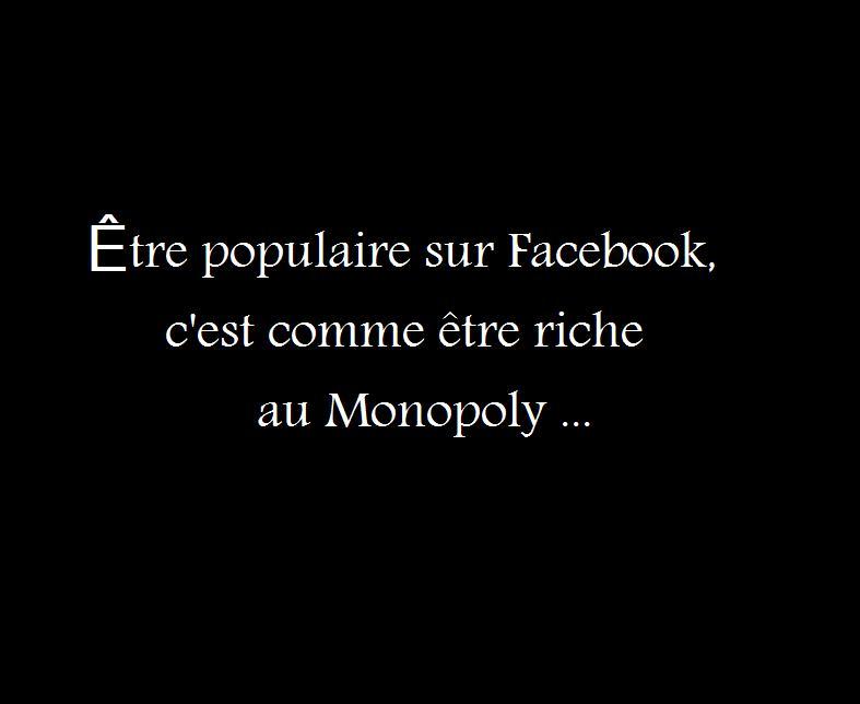populaire sur Facebook