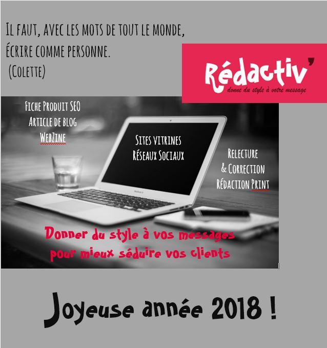 Rédactiv Voeux 2018