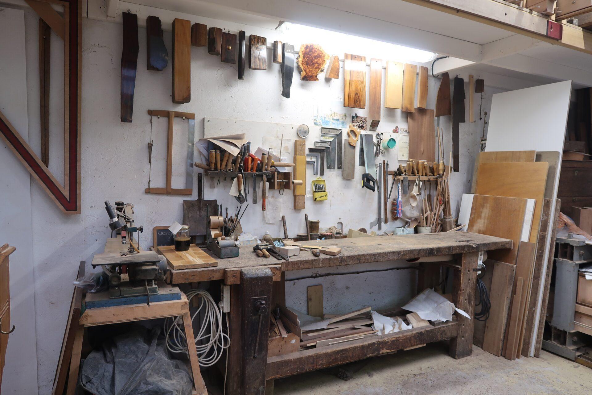 Atelier d'ébénisterie de Anabelle Janssen